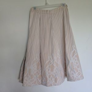Sundays the Label from Australia Lace Nude Skirt
